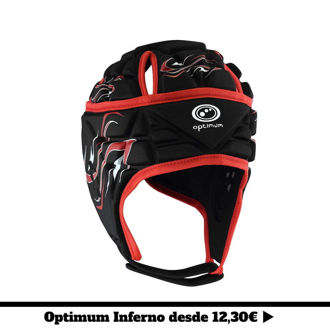 casco de rugby optimum inferno